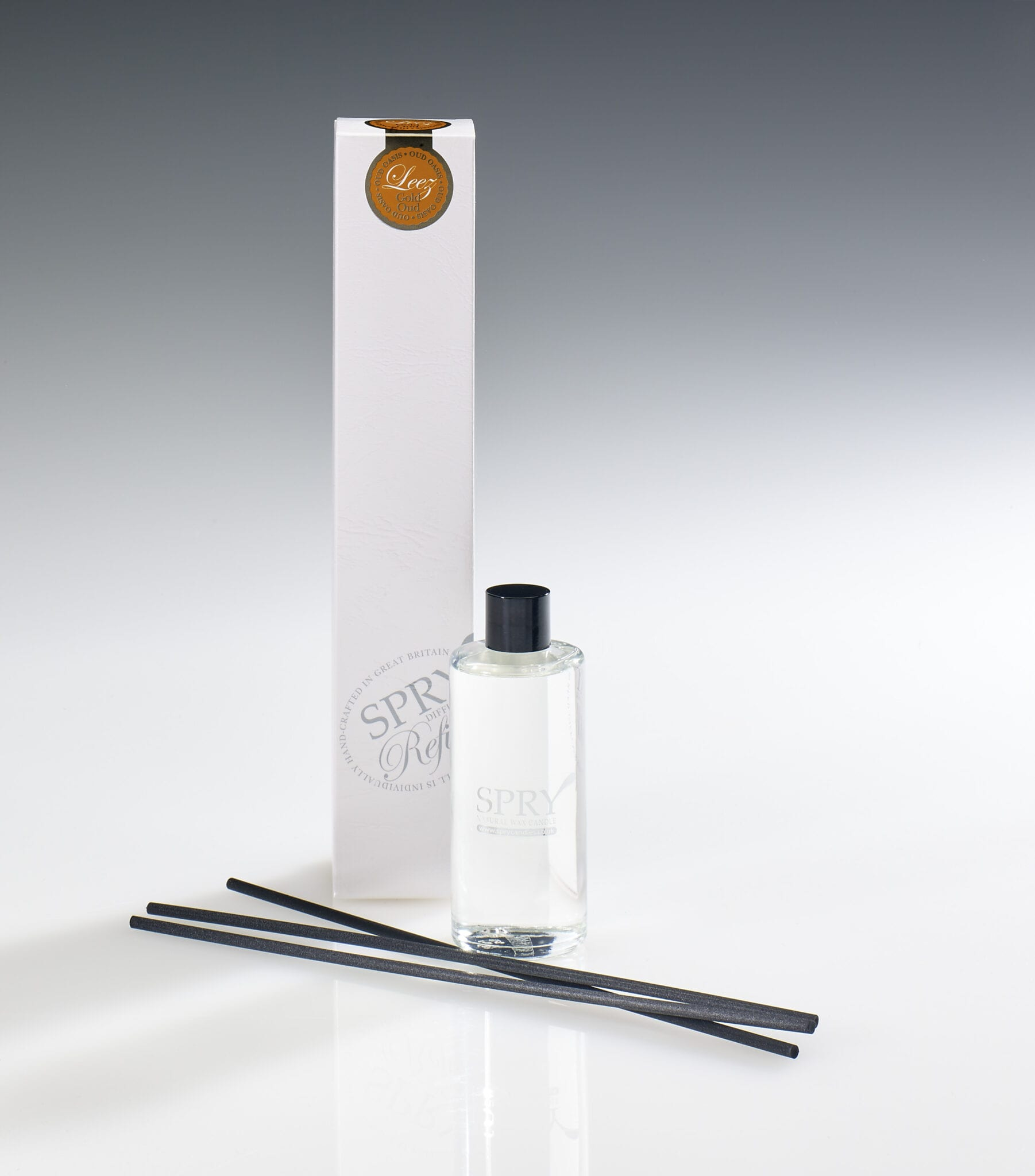 Spry Candles - 100ml Reed Refills Leez