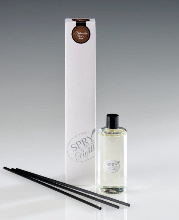 Aphrodite Black Rose Special Edition Reed Diffuser Reeds (100 ml)-0