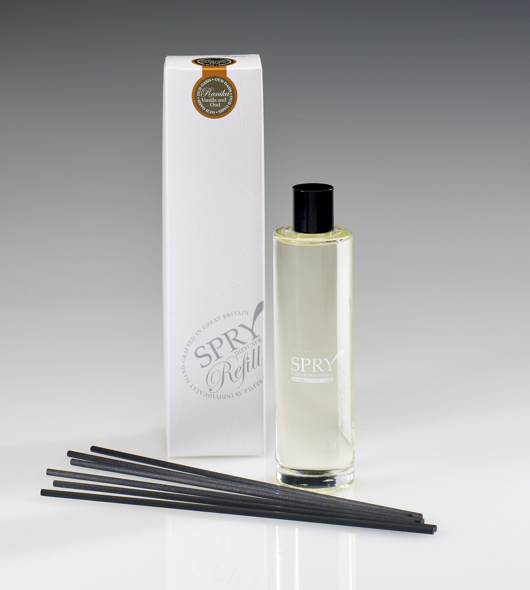 Spry Candles - 225ml Reed Refill Ranika