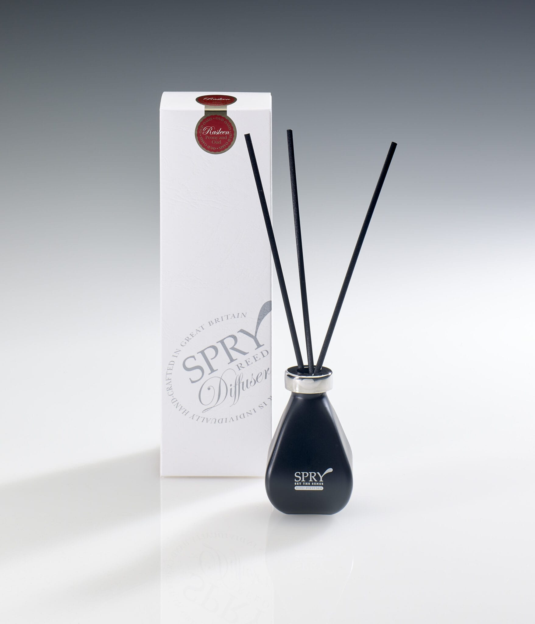 Spry Candles - Diffuser 100ml Black Rasleen