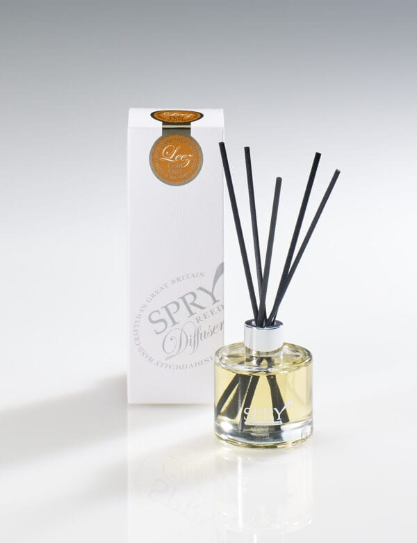 Spry Candles - Diffuser 50ml Clear Leez