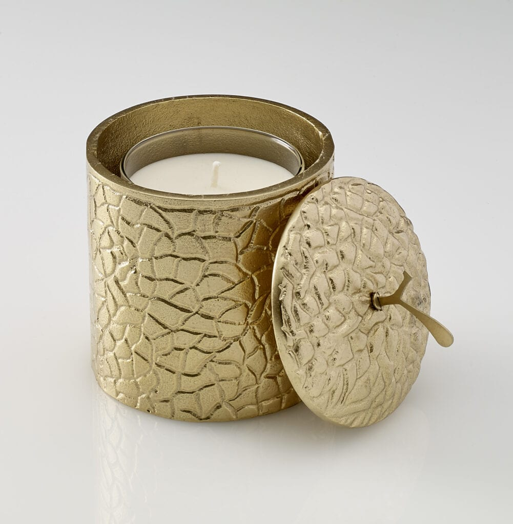 Spry - Gold Collection Medium Candle Holder