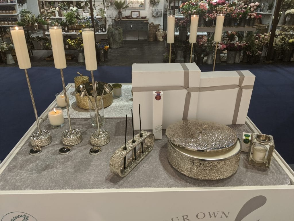 Spry Candles - Platinum Range in Gold