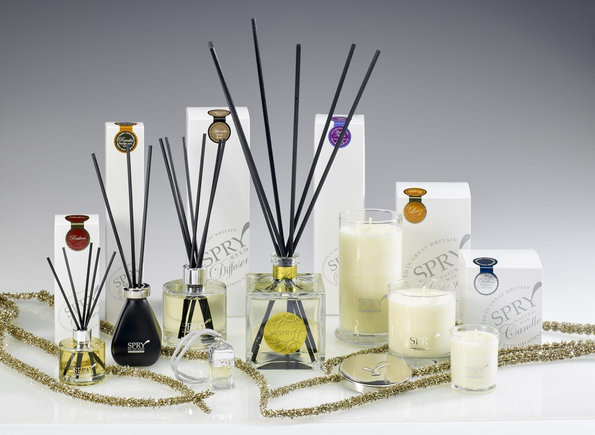 Spry Candles - Oud Oasis Collection