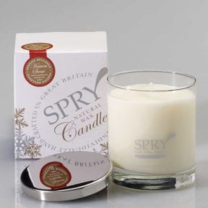 Heaven Scent: Sandalwood and Amber Candle-0
