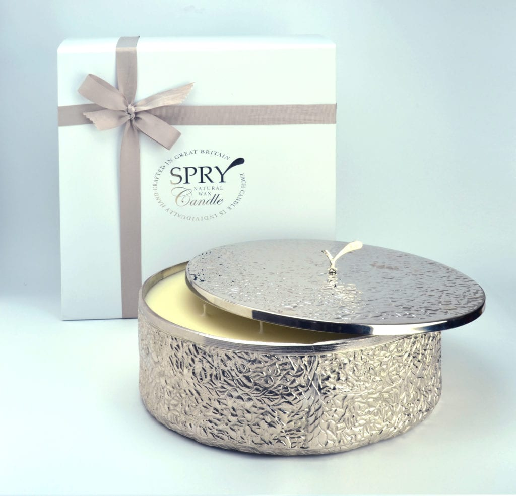 Spry Candles - 9 Wick Platinum Candle
