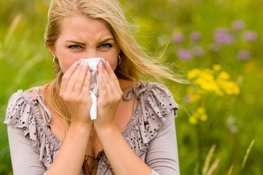 Hay fever and Aromatherapy